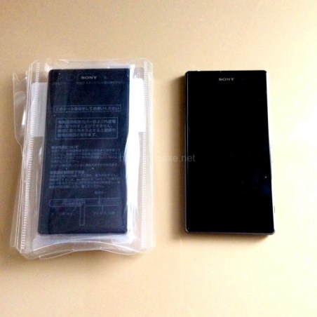 XperiaZ1の画面ガラスが割れてau安心ケータイサポートプラスを利用