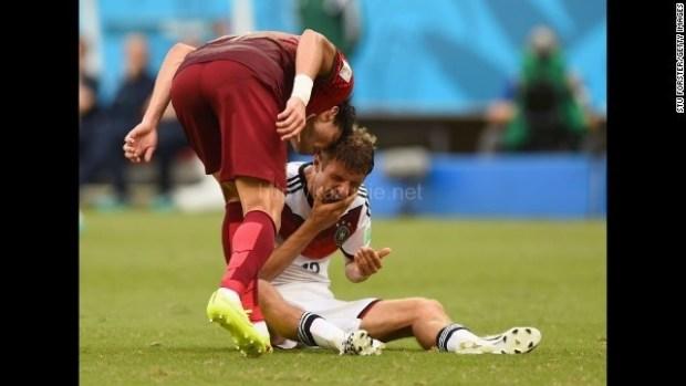ドイツ、ポルトガルに大勝。頭突きで退場者ほか今日の #スクラップ #2014 #6/17