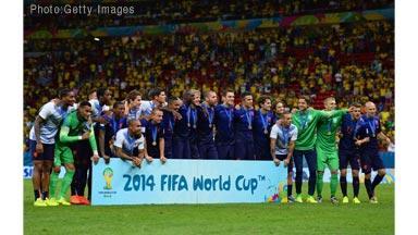 W杯3位決定戦オランダVSブラジルほか今日の #スクラップ #2014 #7/12