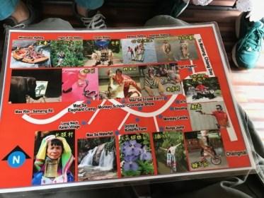 タイのチェンマイで1日観光三昧