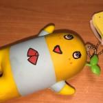 傷んだ梨。上部が変色。#blog http://t.co/KaRI6yE3tR