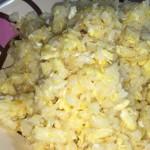 炒飯作ってみた。お店ような味わいが手軽に。塩分強いので入れすぎ注意かな。 http://t.co/gCSLsuqyab