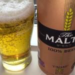 サントリー ザ・モルツ、原材料:麦芽とホイップ。おいしい生ビールだが、パッケージが地味。同価格帯のビールから変えてみようと思うのかな? http://t.co/dU51UifHiV