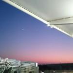 仙台うみの杜水族館、夕焼け綺麗ですね #s_uminomori http://t.co/4d8GEOyIw4