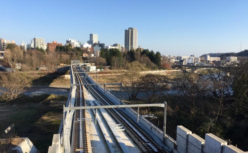 仙台市地下鉄 東西線 広瀬川橋梁