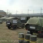 テレビで自衛隊の入浴支援が出てたので、当時の写真を。沖縄の第15旅団。 https://t.co/GUIQV8laMo