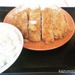 #ダブルロースカツ定食 #かつや 160円引き ご飯大盛り+100円