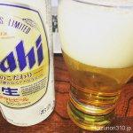 #アサヒ生ビール うまうま