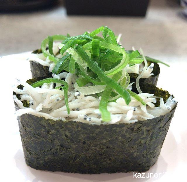 #釜揚げしらす #かっぱ寿司