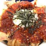 #トロたまチキ丼 #松屋