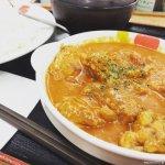 #ごろごろチキンのバターチキンカレー #松屋 #店舗限定 大きいチキンが食べ応えあって満足
