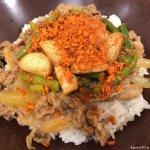 #トリプルニンニクMIX #牛丼 #すき家