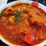 #ごろごろチキンのトマトカレー #松屋 酸味が程よいトマトカレー