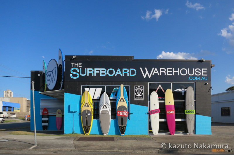 Gold Coast Surf shop