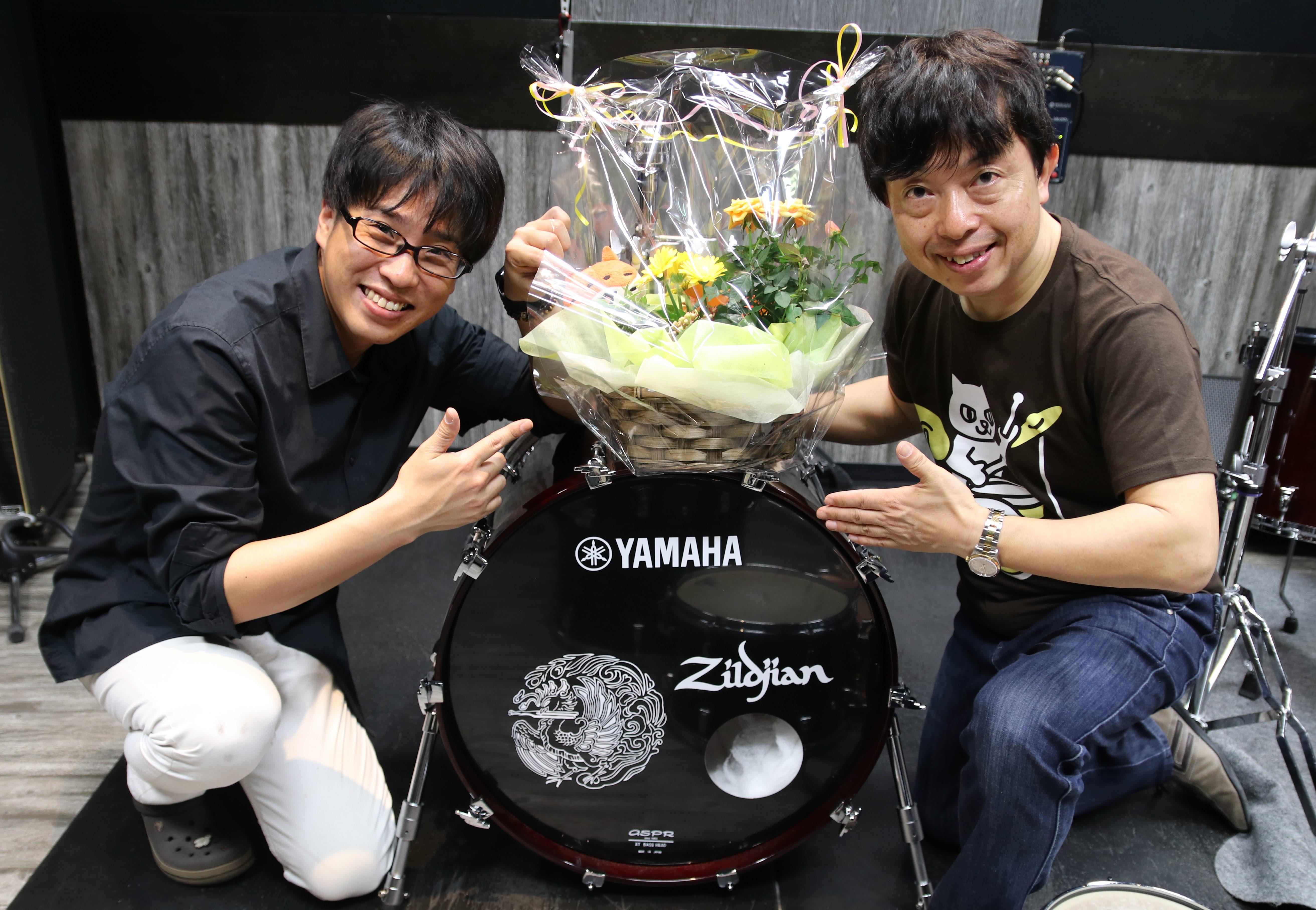 菅沼孝三ドラム道場千葉校10周年記念イベント
