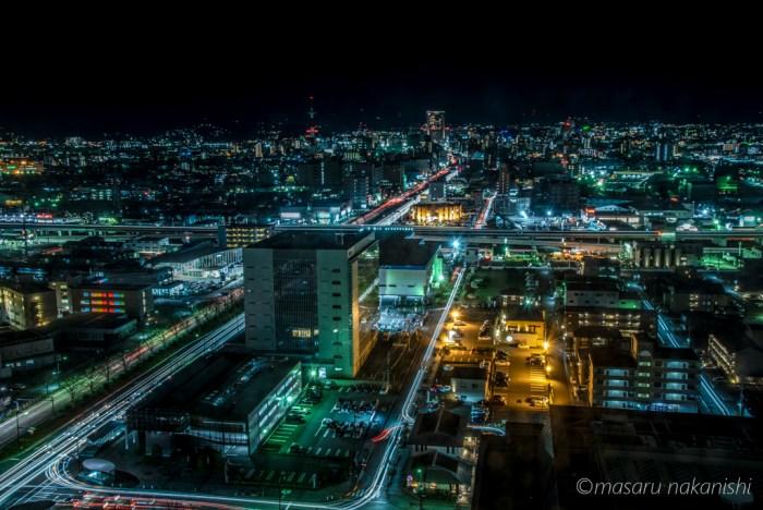 石川県庁からの夜景
