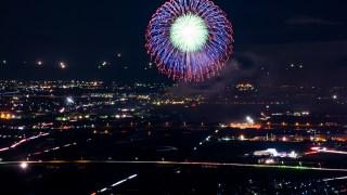 北國花火川北大会を秘密の高台から撮影してみました☆
