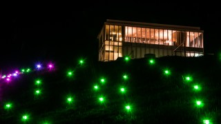 石川県西田幾多郎記念哲学館のライトアップ&「哲学の杜ライトアップ」フォトコンテストやってるってよ☆