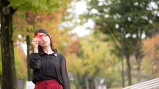 金沢の街なかで紅葉をポートレートしていく~紅葉ポートレートのモデルさん募集中!~