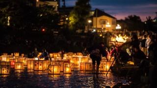 金沢最大の「百万石まつり」が開幕です☆【前夜祭・加賀友禅灯籠流し】