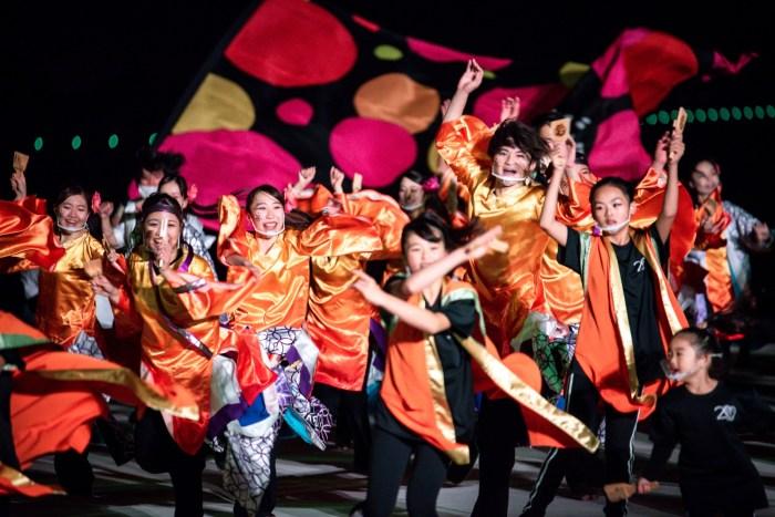 光と踊りのスペシャルソーランナイト