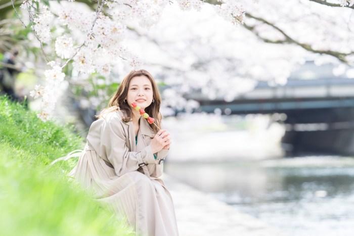富山桜ポートレート