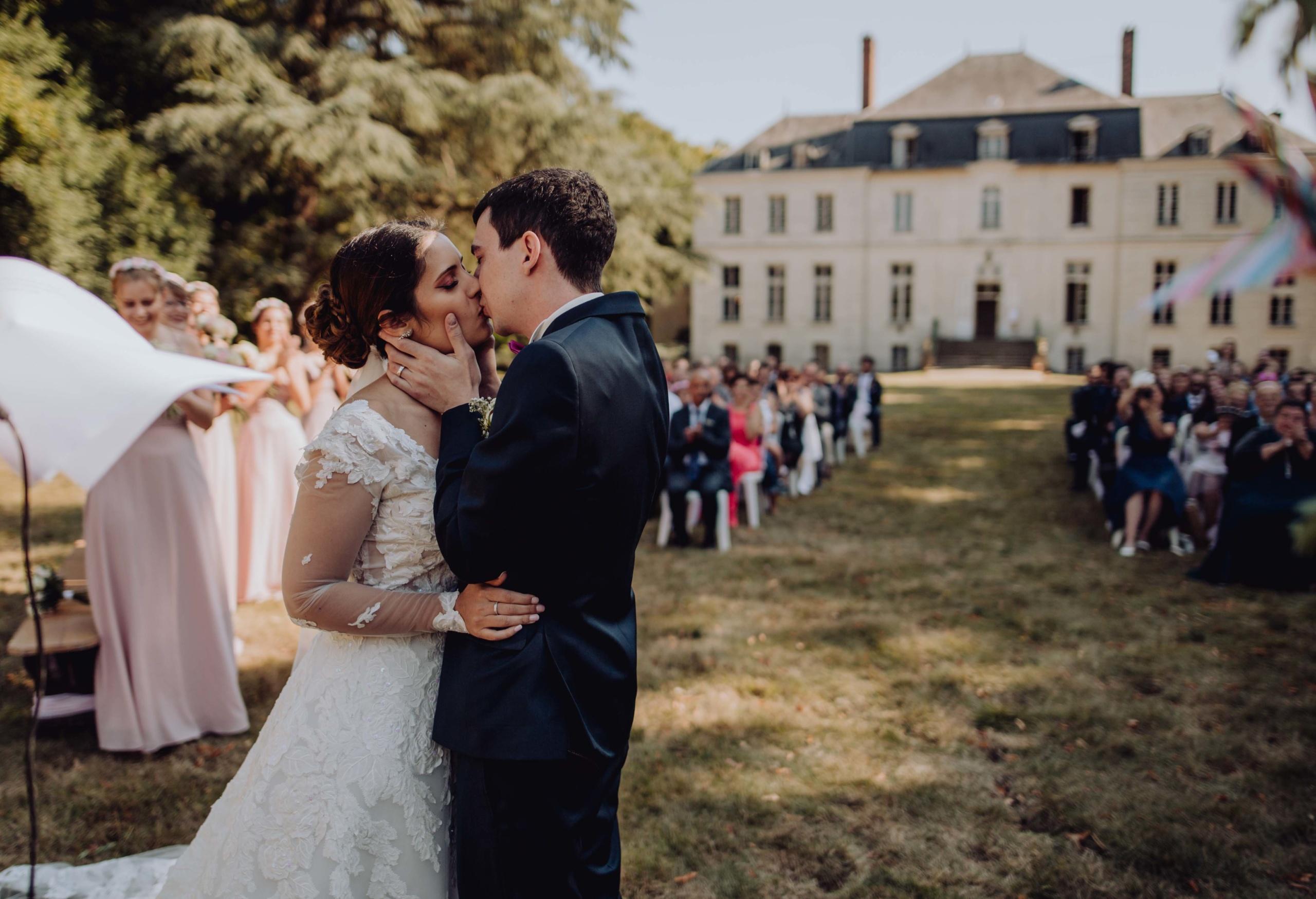 Château d'Arnouville, le magnifique mariage de Sabra & Paul