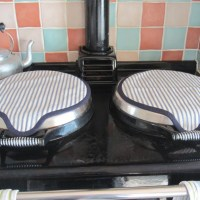CUSTOM MADE AGA Cooker lid covers (magnetic range)