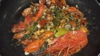 Lobster & Salmon Ravioli with Lobster Sauce 18