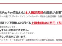 【還元率がスゴイ】QRコード決済のpaypayキャンペーン 107