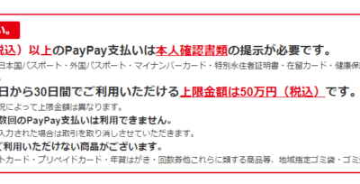【還元率がスゴイ】QRコード決済のpaypayキャンペーン 31