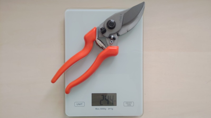 LOWE ライオン No.9104 強力型バイパス式剪定鋏の性能・研ぎ方・手入れ方法を解説 272
