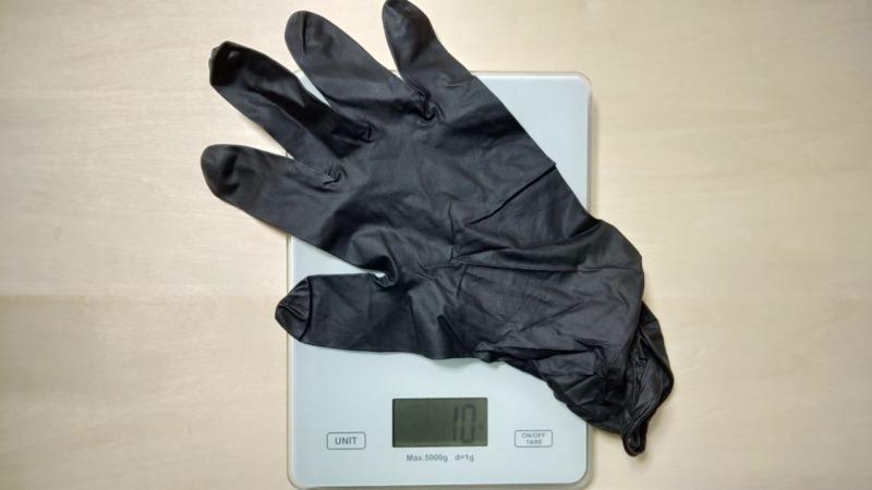MGブラックニトリルグローブの性能を解説【農作業におすすめの破れにくいゴム手袋】 261