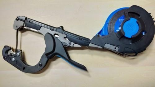 新型強力マックステープナー HT-S45Eの使い方・性能・部品を画像・動画で解説【楽に強力結束誘引】 359
