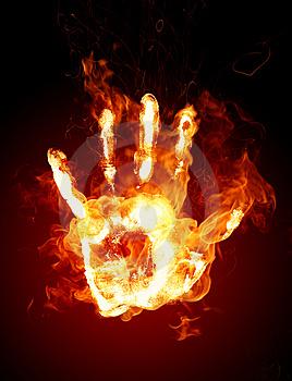 burning hand-jauzaa