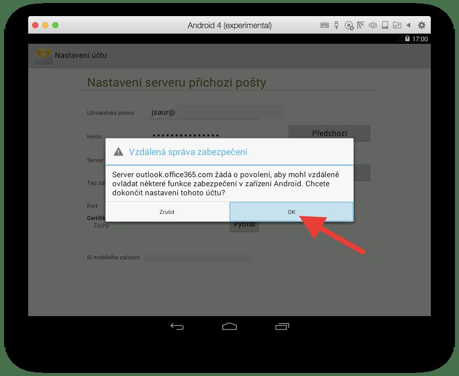 Android - Vzdálená správa