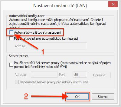 Internet Explorer - proxy