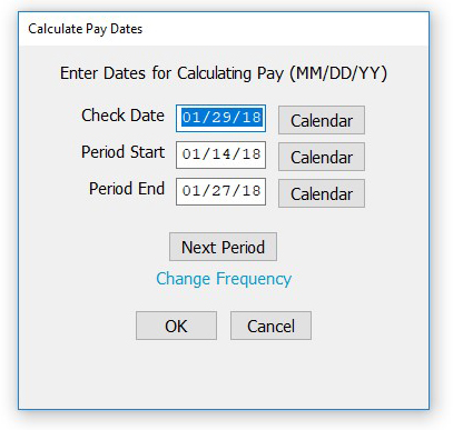 Calculating Pay for an Employee