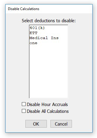 Disable Calculation