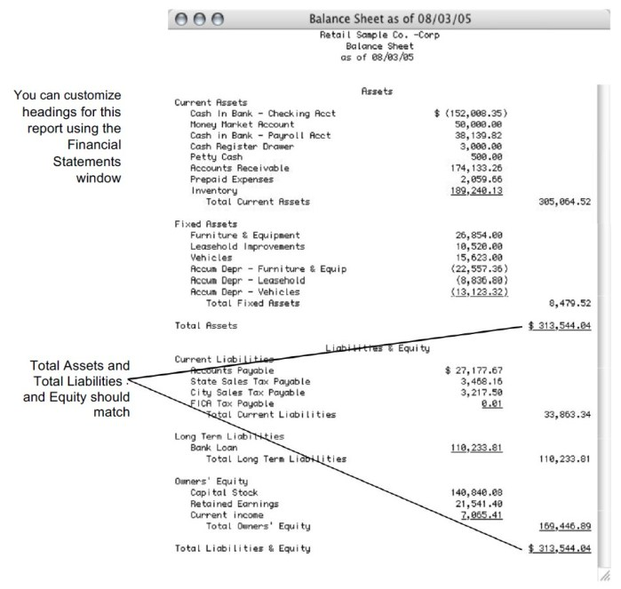 how to create balance sheet report checkmark knowledge base