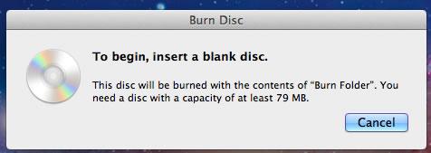 Image of insert blank disk