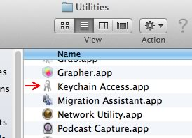 Image of Keychain Access
