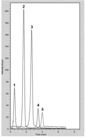 Rice Extract Chromatogram