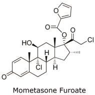 Mometasone Furoate Chemical Structure