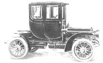 1906 Cadillac H Coupe