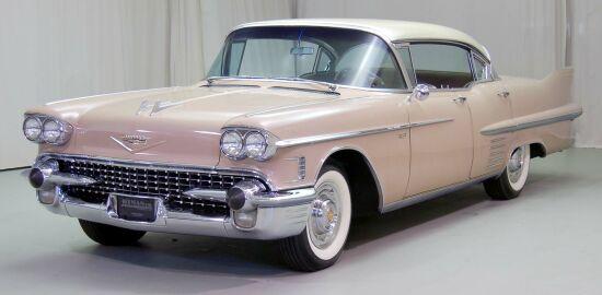 1958 Cadillac 62 Sedan De Ville