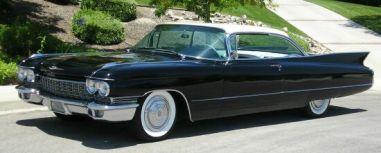 1960 Cadillac Coupe De Ville