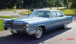 1966 Cadillac Calais 4-door Sedan