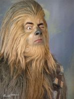 Bean as Chewbacca