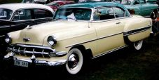 1954 Chevrolet Bel Air hardtop coupe